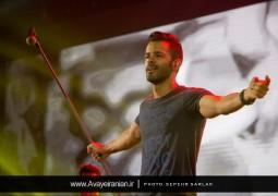 تصاویر آوای ایرانیان از کنسرت هشتم مرداد سیروان خسروی
