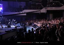 تصاویر اختصاصی آوای ایرانیان از کنسرت ۶ شهریور رضا صادقی در تالار وزارت کشور