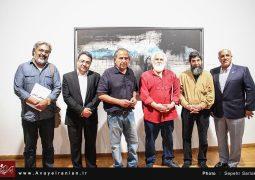 تصاویر آوای ایرانیان از افتتاح نمایشگاه آخرین آثار مصطفی دشتی در نیاوران + عکس