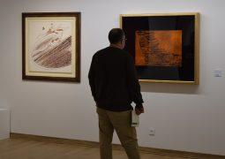 گزارش تصویری از افتتاح نمایشگاه نقاشی خط گروهی در گالری دید + سری دوم