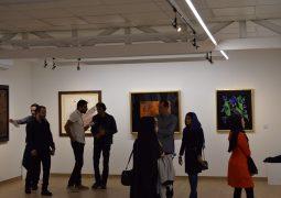 گزارش تصویری از افتتاح نمایشگاه نقاشی خط گروهی در گالری دید + سری آخر