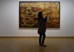 گزارش تصویری از افتتاح نمایشگاه نقاشی خط گروهی در گالری دید + سری سوم
