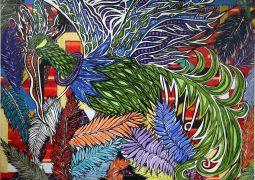 سیمرغ های هنرمند مطرح کشور ترکیه روی دیوار شرق تهران + تصاویر