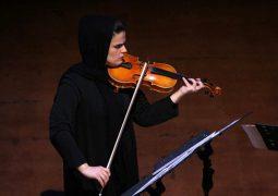 نوازنده ارکستر فیلارمونیک تهران در نیویورک