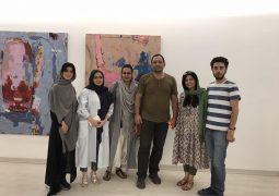 """افتتاح """"همین – هست"""" در گالری دید + تصاویر"""
