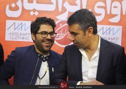وقتی حامد همایون نمایشگاه مطبوعات را بهم ریخت ! + عکس