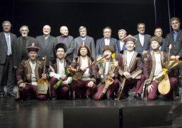 اجرای موسیقی محلی قزاقستان در نیاوران