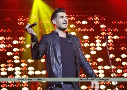کنسرت جشنوارهای شهاب مظفری در شهر رازها + تصاویر