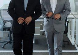 عکس پدر و پسری مهران مدیری و محمدرضا گلزار + عکس