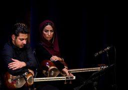 چوب رهبری ارکستر ملی در دستان تنها بانوی رهبر ارکستر ایران + تصاویر