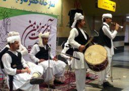 موسیقی اقوام در مترو تهران