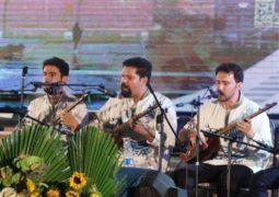 بارگاه شمس تبریزی میزبان موسیقی اقوام ایرانی