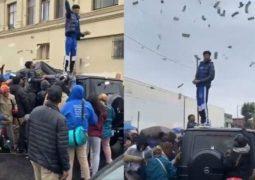 پولپاشی خواننده مشهور در محله فقیرنشین + عکس