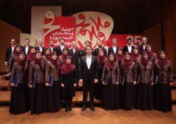 نماینده ارمنستان هنرمندی خود را در تالار رودکی نمایان کرد/فجر۳۵