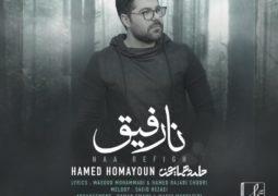 آهنگ جدید حامد همایون با نام نارفیق را دانلود کنید