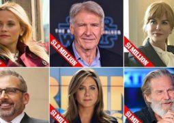 چه کسانی بالاترین دستمزد تلویزیونی در جهان را دارند؟/رقم یک میلیون دلاری برای بازی در هرقسمت!