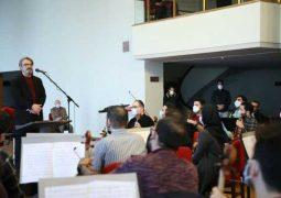 حسین علیزاده از تمرین ارکستر ملی ایران بازدید کرد