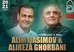 کنسرت مشترک علیرضا قربانی و معروفترین خواننده آذربایجان
